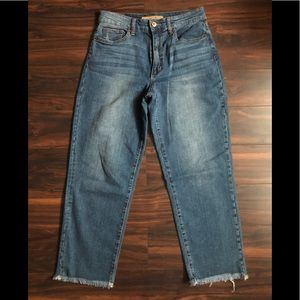 Joes jeans cropped straight jeans 29